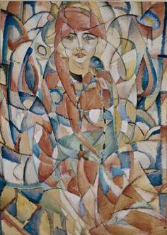 Damesportret Leo Gestel - Stedelijk Museum Amsterdam Amsterdam, Stedelijk, Leo, Modernisme, Museum, Dutch Painters, Selection, Portrait Paintings, Expressionism