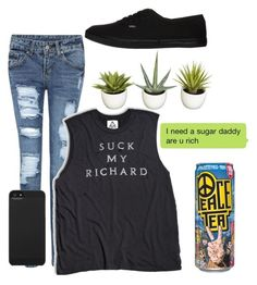11 by t-ornado on Polyvore featuring polyvore fashion style Vans Incase Nearly Natural clothing