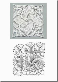 squares de croche - 6  crochet.net.br