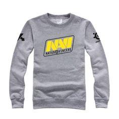 NAVI Dota 2 jogos camisola equipe tripulação pescoço para meninos