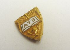 Old ATS Pin with Eagle Design by amyrigs on Etsy