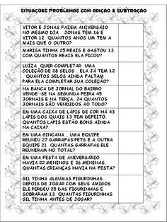 Vera Cunha's media content and analytics Word Problems, Grade 1, Professor, Homeschool, Education, Math, Veronica, Matter Activities, Math Worksheets