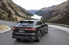 The new Audi isn't exactly lacking in oomph. But that hasn't stopped ABT Sportsline from handing the diesel-powered flagship SUV even more power. Porsche, Audi, Engine Control Unit, Car Magazine, Four Corners, New Engine, Alloy Wheel, Automatic Transmission, Diesel
