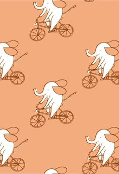deniseholmesillustration - Textile & Surface Design - Patterns I could use one of these for the base of my tattoo design Textiles, Textile Patterns, Textile Design, Pretty Patterns, Color Patterns, Design Patterns, Elephant Illustration, Pattern Illustration, Conversational Prints