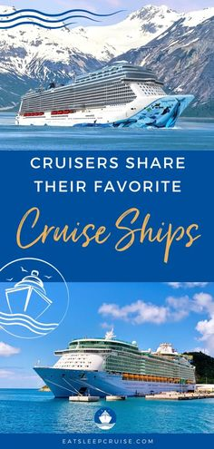 To help get over our cruise blues, we asked that Cruisers Share Their Favorite Cruise Ships to help spread this love for cruising. Cruise Excursions, Cruise Destinations, Cruise Travel, Cruise Vacation, Disney Cruise, Vacations, Royal Caribbean Ships, Caribbean Cruise, Empress Of The Seas