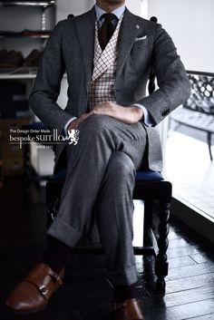 suits:Loro Piana vest:Abraham MOON