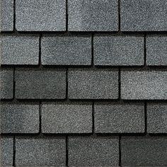 Bristol Gray #gaf #designer #roof #shingles #swatch