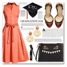 """""""Dr who"""" by mood-chic ❤ liked on Polyvore featuring Rumour London, Bobbi Brown Cosmetics, Zara, Fendi, Tory Burch and graduationdaydress"""