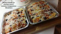 Pasticciando in cucina con il Cuisine Companion Moulinex: Gnocchi di semolino alla pizzaiola con il Cuisine ... Gnocchi, Lasagna, Banana Bread, Pasta, Ethnic Recipes, Desserts, Food, Thermomix, Tailgate Desserts