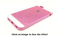 iPhone 6 Case , Luxury Hybrid TPU Hard Shiny Bling Glitter Sparkle With Crystal Rhinestone Cover Case For iPhone 6 [4.7 Inch] (pink)