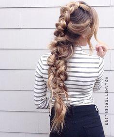 Intertwined braid #glambytoriebliss