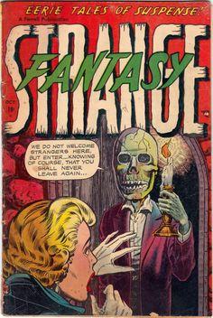 Comic Book Cover For Strange Fantasy v1 #8