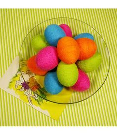 Easter Eggs: Wrap blown eggs in spirals of colorful yarn, trim, ribbon, or rickrack held in place with clear-drying glue or paste. Easter Activities, Easter Crafts For Kids, Easter Ideas, Easter Decor, Hoppy Easter, Easter Eggs, Easter Food, Easter Bunny, Spring Crafts