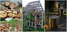 19 Proiecte DIY spectaculoase pentru gradina realizate din lemn - http://ideipentrucasa.ro/19-proiecte-diy-spectaculoase-pentru-gradina-realizate-din-lemn/