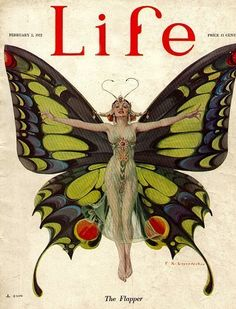 "Life Magazine Feb 1922 ""The Flapper"" :)"