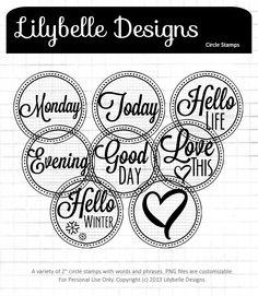 LBDesigns-Circle Stamps