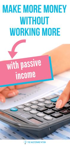 5 Ways to make a passive income! Make more money without working more by using these 5 money making hacks! Earn Money From Home, Way To Make Money, Make Money Online, Passive Income Opportunities, How To Find Out, How To Make, Money Tips, Extra Money, 5 Ways