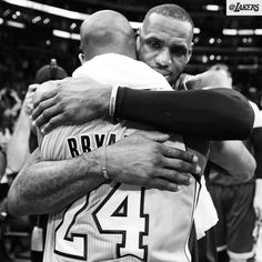 Kobe Bryant Battles LeBron James For Last Time