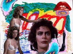 Rocky Horror collage from Rookie Mag