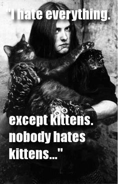Åndemaneren Insantic Omg omg Varg Vikernes cat meme