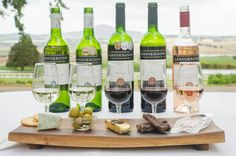 New to our Estate ~ Food & Wine Pairings! Heritage #Food&WinePairing: 5 Landskroon wines paired with #cheese #olives #droëwors #turkishdelight R75 pp