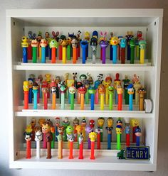 IKEA Hackers. I need to make this and I need to start collecting #pez again.