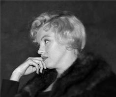 Marilyn attends a preview of Miller's play, A View From The Bridge, at the New Watergate Theatre Club in London, September 9, 1956.