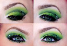 Gorgeous Green  ❤'d by http://makeupartistrycairns.com.au/   #makeup #inspiration