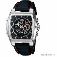 Casio Men's Edifice Digital-Analog Combination Watch EFA-120L-1A1VDF - ED244
