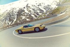 Lamborghini Recreated 'Italian Job' Opening Scene With Stunning Photo Set