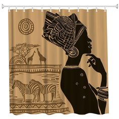 Thinker Polyester Shower Curtain Bathroom Curtain High Definition 3D Printing Water-Proof - COLORMIX W71 INCH * L79 INCH Cheap Shower Curtains, Bathroom Shower Curtains, Marble Countertops, Kitchen Countertops, Ethnic Decor, Home Interior Design, High Definition, 3d Printing, Decorating Ideas