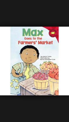 Max goes to the farmers market