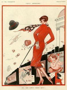 Illustration by Vald 'Es For La Vie Parisienne 1920s