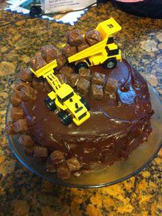 Construction Birthday Cake Photo Only; Made by Estera Carp