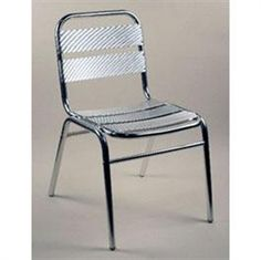 Indulge with the sleek design of our ALUMINUM CHAIR, which has proven to be a consistent favorite with our consumers. Wonderful for both indoor and outdoor use.http://commercialseats.com/Products/529-aluminum-chair.aspx