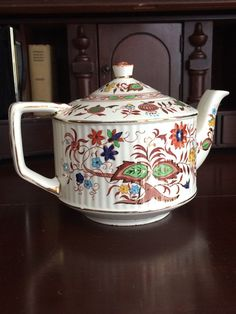 Vintage Sadler Brown Onion Teapot Made in Staffordshire