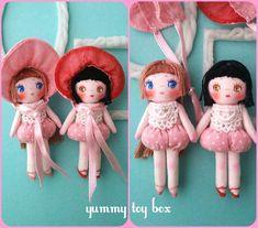 ミニチュア文化人形 by yummy.toy box ぬいぐるみ