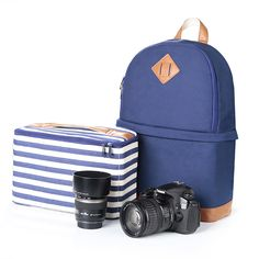 DSLR Camera Bag that does looks like a normal backpack.