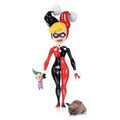 Batman Lil Gotham Figures - Harley Quinn Mini Figure