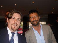 Guillermo Gómez y Hugo Silva en la Gala del Festival de Cine de Alicante