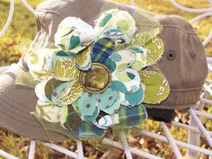 Cute Hat  Military Style Hat with  a GREAT by TheQueensDaughters, $20.00
