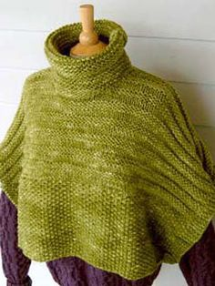 Ravelry: Colorful Cropped Overlay pattern by Cathy Payson - free pattern on Knitting Daily TV website
