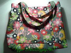 Homemade tote bag
