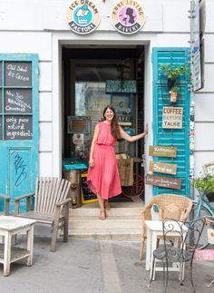 """Cafe-Besitzerin Kirsten Pevny (Pure Living Bakery) aus den """"Sugar Girls"""" von Jana Henschel und Meike Werkmeister © Ulrike Schacht"""