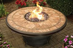 Have a look at the stylish Tahoe fire pit table. Free Shipping and the best online pricing!