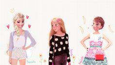 Esto es lo que los personajes de Disney se vería como en el mundo moderno