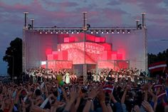 DJA | Stage design for XI Latvian School Youth Song and Dance Festival