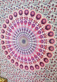 Mandala Tapestries, Hippie Tapestries, Tapestry Wall Hanging, Wall Art, Hippie Wall Tapestries, Indian Tapestry, Bohemian Dorm Tapestries