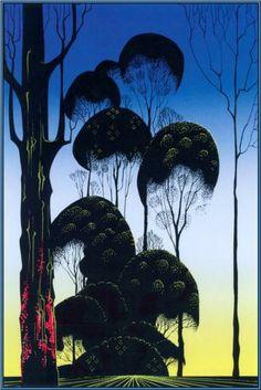 Sunrise - Eyvind Earle