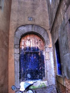 Última puerta templaria de Barcelona.
